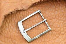 Boucles de ceinture argentée en métal pour homme