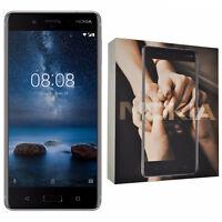 BNIB Nokia 8 Single-SIM 64GB TA-1012 Blue Android Factory Unlocked 4G Simfree