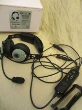 David Clark aviator PILOT headset DC-PRO-X noise cancelling headphones  BLUETOOT