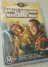 Harley Davidson and the Marlboro Man DVD *NEW* RARE Mickey Rourke Action Movie