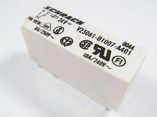 Relay 24V 1xum 240V 10A 8A Schrack Siemens V23061-B1007-A401 #13r87