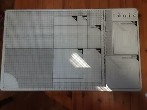 TONIC STUDIOS EXTRA LARGE GLASS CUTTING MAT - Great For All Crafting / Hobbies