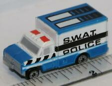 MICRO MACHINES FORD BOX VAN SWAT POLICE NEAR MINT