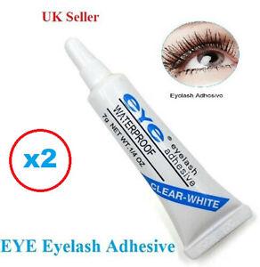 💙EYE-DUO Eyelash Glue Adhesive Strong Clear Waterproof *UK-Seller* 2 Tubes