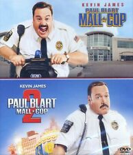 Paul Blart MALL COP 1 & 2 PG family comedy movies, new DVD, Kevin James, Segway
