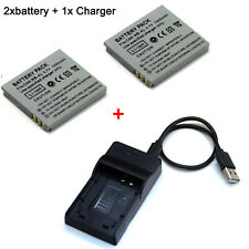 Battery / Charger For NB-4L Canon Power Shot TX1 SD1400 IS DIGITAL ELPH WIRELESS