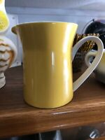 Mikasa Duplex Ben Yellow 2557 Coffee Creamer Container Dispenser Dish Holder Cup