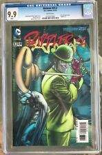 """Batman #23.2 (2013) CGC 9.9 Mint -- White p; """"Riddler #1""""; 3-D cover; Not 9.8"""