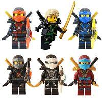 LEGO® Ninjago™ Ninja's set of 6 - Lloyd, Nya, Zane, Cole, Jay, Kai Deepstone