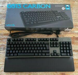 Logitech G513 Carbon - Gaming-Tastatur - RGB - QWERTZ - OVP - Romer-G Tactile