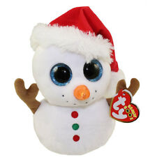 Sale Ty Beanie Boo PRESENTS the Snowman 6 Inch NWT. CHRISTMAS RARE Hard to Find