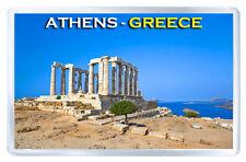 POSEIDON TEMPLE ATHENS GREECE FRIDGE MAGNET SOUVENIR IMAN NEVERA