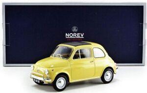 NOREV187772 - Voiture citadine FIAT 500L de 1971 de couleur jaune Tahiti éditée