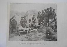Un détachement de Boys Scouts Siamois Tigres Sauvages Image Print 1923