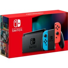 Nintendo Switch - 32GB Gray Console / Neon Joycons Ships Free Nunavut & Anywhere