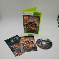 LEGO Pirates of the Caribbean The Video Game (Microsoft Xbox 360, 2011) Complete