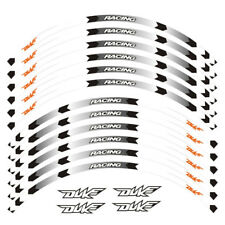 "For KTM DUKE 200 390 690 990 17"" Custom Rim Stripes Wheel Decal Tape Sticker"