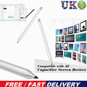 Touch Screen Stylus Pencil For Tablet iPad Phone Samsung PCCapacitive Pen UK 3DS