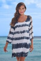 $54 NWT Tie Dye Callie Tunic Cover Up Swimwear SZ 10/12 Swimsuits for all 1285
