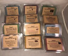 2 PATCHOULI Triple Scented NOOPY'S Soy Wax Melts Tarts Wickless Clam Shells