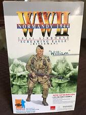 2001 Dragon WWII WILLIAM 101st Airborne Screaming Eagle Rifleman 1:6 Figure NIB