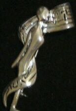 Musical Silver Tone Female Pin Brooch Eric Originals 2007 - 2008