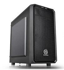 Thermaltake Versa H15 M-atx Gaming Case No Side Window Usb3 Black Interior