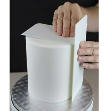 "PME Tall 10"" Plain Edge Side Scraper Icing Buttercream Smoother Cake Decorating"