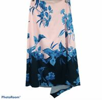 Ted Baker London Womens Nemea Fantasia Floral Asymmetrical Skirt  Size 2 US 4-6