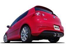 "BORLA 2008 VW VOLKSWAGEN GOLF R32 .:R 3.2L VR6 2.5"" CATBACK EXHAUST SYSTEM SS"