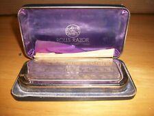 Vintage ROLLS RAZOR in Case & Blade EXC