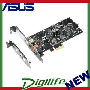 ASUS Xonar SE 5.1 PCIe Gaming Sound Card 192kHz/24-bit HI-res Audio 116dB SNR