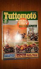 TUTTOMOTO #  5 - MAGGIO 1980 - GRANDE RAID: 20.000 KM CON LA VESPA 125