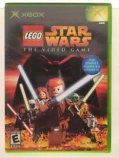 LEGO Star Wars:The Video Game (Microsoft Xbox, 2005) Original Xbox Episode 1,2,3