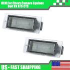For 14 19 Chevy Corvette C7 Impala Ss White 18 Smd Led License Plate Light Pair