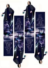 Severus Snape (Harry Potter) bookmark, PDF, A4 instant download