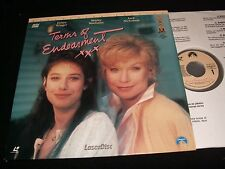 "TERMS OF ENDEARMENT<>SHIRLEY MacLaine<>2X12"" Laserdiscs<>PARAMOUNT HOME VIDEO"