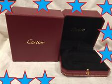 Genuine New Model  Cartier Presentation Love Bracelet Box Red   SHIPS SAME DAY