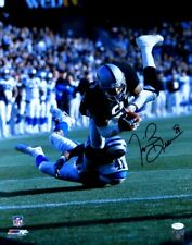 Tim Brown Signed Autographed 16X20 Photo Raiders Catch vs. Panthers JSA