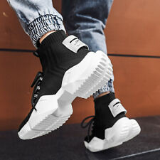 Men's Fashion Running Shoes Sport Gym Jogging Tennis Outdoor High top Sneaker US