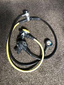 Scubapro Diving Regulator set (DIN Fitting).