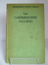 The Cambridgeshire Syllabus Of Religious Teaching For Schools 1951