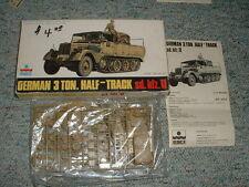 Esci HO 1/72 #8015 German 3 ton half-track Sd.Kfz.11