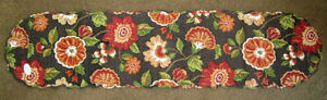 """Chelsea Floral 54"""" Quilted Cotton Table Runner ~ by Park Designs"""