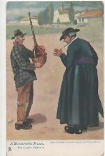 POSTCARD  COMIC  The Cure's Fete Day         Dudley Hardy     Tuck