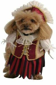 NEW PIRATE QUEEN DOG CAT PET COSTUME LARGE DRESS-UP CLOTHES RENAISSANCE
