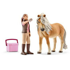 Schleich – Groom with Icelandic Pony Mare * Horse & Groomer Toy Figure NEW