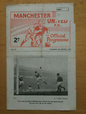 Manchester United Res v Leeds Res  1963/64 - Central League