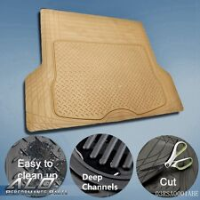Trunk Cargo Floor Mats For SUV Van Truck All Weather Rubber Auto Liners BE