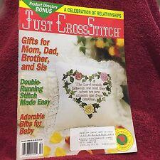 Just Cross Stitch Magazine Celebration of Relationships February 1994